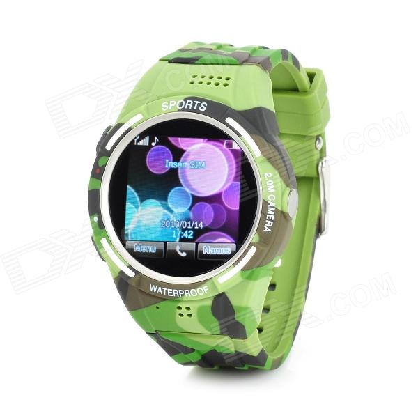 TW320 Waterproof GSM Wrist Watch Phone w/ 1.5