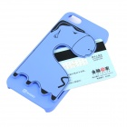 Protective PC Back Case w/ Card Slot for IPHONE 5 / 5S - Blue