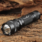 TANK007 PT10-5 700LM Cool White LED 5-mode Flashlight - Black (1 x 18650 / 2 x CR123)