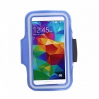Sports Gym Arm Band Case Cover for Samsung Galaxy S5 - Blue