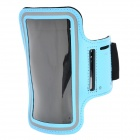 Buy Sports Gym Arm Band Case Cover Samsung Galaxy S5 - Light Blue