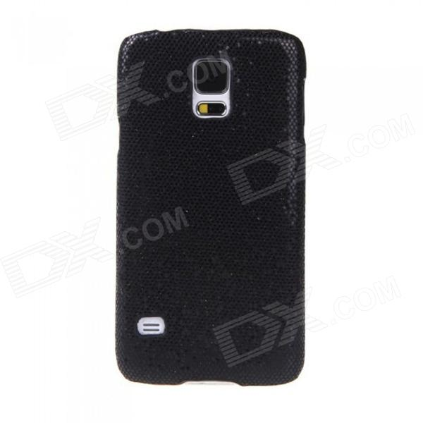 Glitter Bling Protective PC Back Case for Samsung Galaxy S5 - Black replacement back camera circle lens for samsung galaxy s5 g900 black