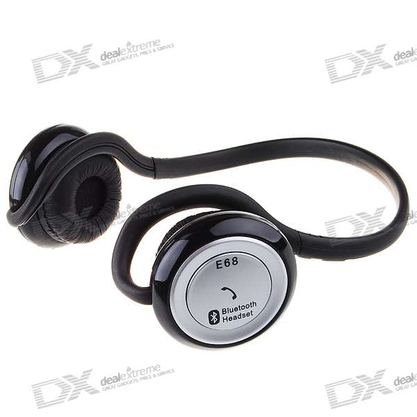 HS E68 Sport MP3 Player + Bluetooth Stereo Headset (15-Hour Talk/200-Hour Standby)