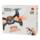 Udi U830 Wireless 2.4GHz 4-Axis 4-kanals R / C Aircraft m / Gravity Sensor - Sort + Orange