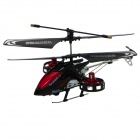 Brilink BH12 Rechargeable 4-CH IR Remote Control R/C Helicopter w/ Gyro - Black