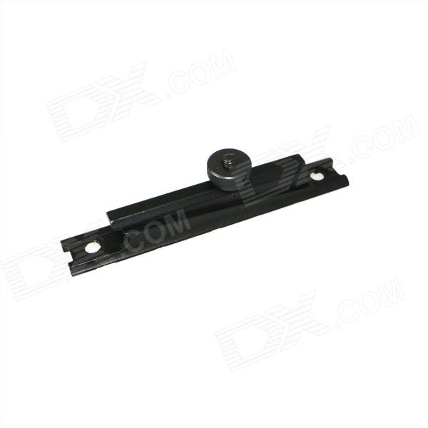 ACCU 15A Aluminum Alloy Gun Rail Mount Base for M4 - Black