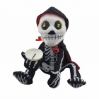 Head Shaking Ghost Doll Coin - Bank + White (3 x AA)