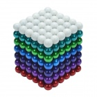 CHEERLINK 5mm DIY Magnet Balls / Neodymium Iron Educational Toys Set - Multicolored (252 PCS)