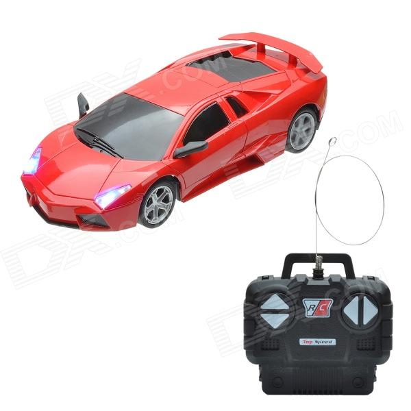 By2788b Cool 1 24 Sports Car Style R C Model Toy Red Black