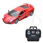BY2788B Cool 1:24 Sports Car Style R/C Model Toy - Red + Black
