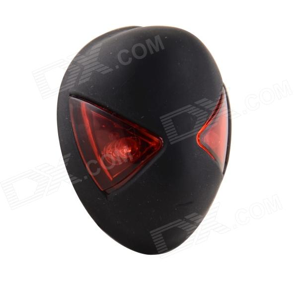 Bicycle Safety 2-LED 32lm 3-Mode Rechargeable Red Rear Light - Black (1 x FY-680)