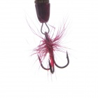 Metal stil Fishing Bait / Lure m / Feather - flerfarget ( 4 stk )