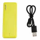 EP-8610B 3000mAh Portable Mobile Power Source Banque pour IPHONE + plus - jaune