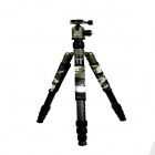 DEBO Detachable Carbon Fiber Retrorse Tripod / Monopod w/ Ball Head - Black + Green