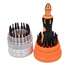 Jakemy JM-8117 37-in-1 Professional Repair Tool Screwdrivers Set - Black + Orange