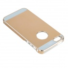 Protective PC + ABS + Aluminum Alloy Back Case for IPHONE 5 / 5S - Golden
