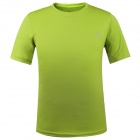 LANGZU YOUDANG 2170 Men's Outdoor Sports Quick-Dry Short-sleeved T-shirt - Army Green (XXL)