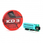 ICD3 Emulator Programmer w/ USB Cable Set - Red