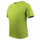 LANGZU YOUDANG 2170 Men's Outdoor Sports Quick-Dry Short-sleeved T-shirt - Army Green (L)