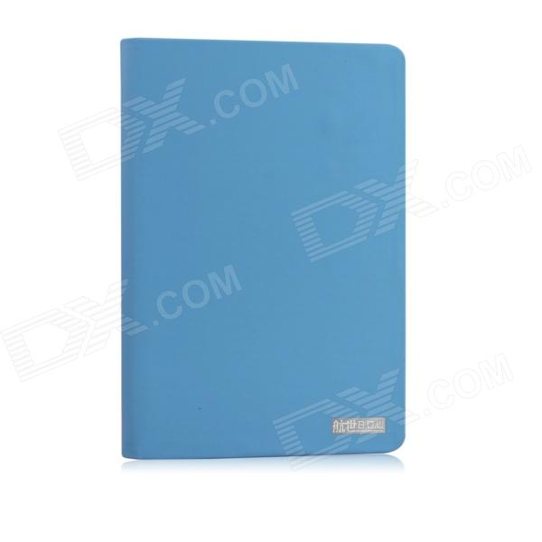 B.O.W HB069 Protective PU Leather Case Cover Stand w/ Auto Sleep for RETINA IPAD MINI - Blue luxury paris tower flip stand case cover for ipad mini 1 2 3 retina kxl0802