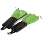 Wind Tour WT073001 Outdoor Waterproof Breathable Snow Shoes Cover - Green + Black (2 PCS)