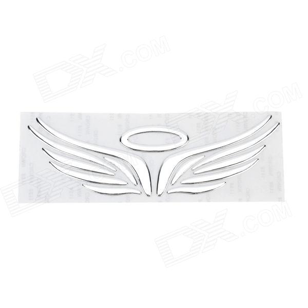 Angel Wings Style 3D Car Body Sticker - Silver