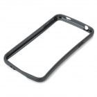 Protective Plastic Bumper Frame for Samsung Galaxy S5 - Black