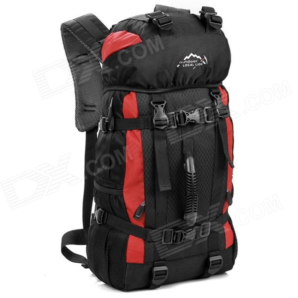 LKLR 423 Outdoor Sports Nylon Backpack - Red + Black (38L) rga r 981 sports watche red