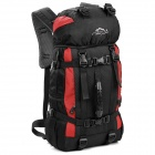 LKLR 423 Outdoor Sports Nylon Backpack - Red + Black (38L)