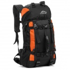 LKLR 423 Outdoor Sports Nylon Backpack - Orange + Black (38L)
