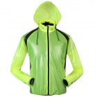 NUCKILY NY0920 Cycling Waterproof Breathable Dacron Jacket - Green (XL)