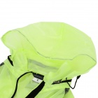 NUCKILY NY0920 ciclismo Dacron transpirable impermeable chaqueta - verde (XXL)