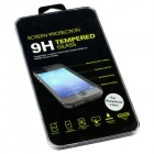 Classic Black Pattern 0.2mm Premium Tempered Glass Screen Protector for IPHONE 5 / 5C / 5S