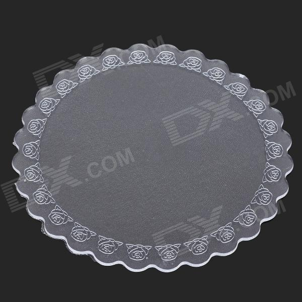 FHD145 14.5cm PVC Environmental Heat Insulation Pad - Transparent