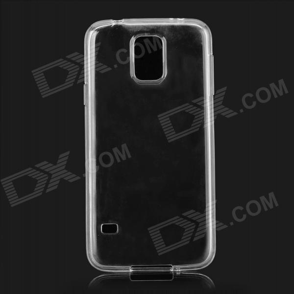Protective TPU Case for Samsung Galaxy S5 - Transparent samsung g900h galaxy s5 16гб белый в омске
