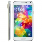 "No.1 S7 MTK6582 Quad Core Android 4.2.2 WCDMA Pone w/ 5"", 1GB RAM, 8GB ROM, Dual Camera - White"