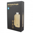 TS-02 Full HD 1080P EZCast Miracast Wi-Fi Display Dongle med Dlna / Miracast / AirPlay - Golden