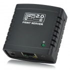Network USB 2.0 LPR Printer Server (10/100MBps Ethernet)