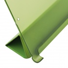 Protective Plastic Case Cover Stand w/ Auto Sleep for IPAD AIR - Green