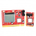 Diagnostic Post Test Card Debug Card for Desktop & Laptop (Mini PCI-E / Mini PCI / LPC)