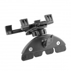 Car CD Port Holder Stand Bracket for Phone / Navigation / Tablet PC - Black