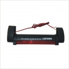 1W 140lm 14-LED Red Light Motorcycle / Car Brake Lamp - (12V)