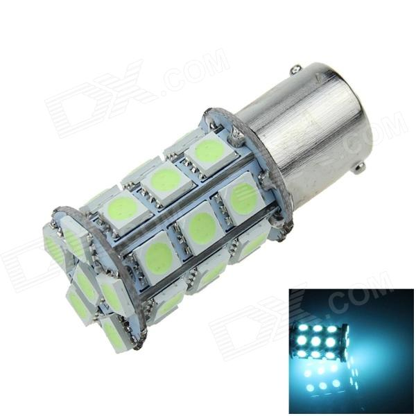 1141 / BA15S / 1156 6W 300lm 27 x SMD 5050 LED Ice Blue Car Signal Light / Steering Lamp - (12V)