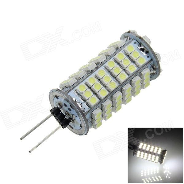 G4 4W 400lm 102 x SMD 1210 LED White Light Car Instrument / Reading Lamp - (DC 12V) g4 6w 500lm 6000k 120 smd 1210 led white light car instrument reading lamp dc 12v