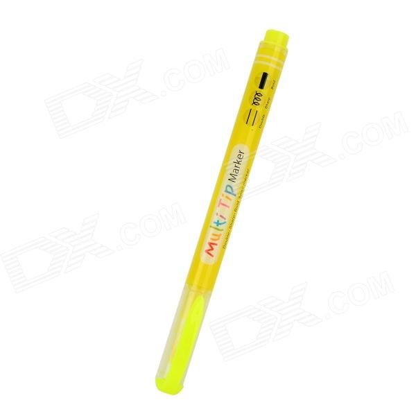 DIY Graffiti Multi-Function Marker Pen - Yellow