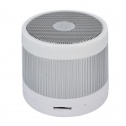 EWA A105 Handsfree Bluetooth V2.1 Speaker w/ SD / TF - Pearl White