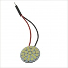 T10 / BA9S / Festoon 3W 330lm 22 x CMS SMD 1210 LED Branco Carro Dome Lamp-(12V)