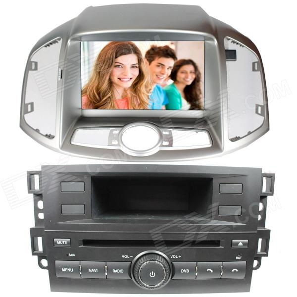 LsqSTAR 8 Touch Screen Separate Car DVD Player w/ GPS, AM, FM, RDS, 6CDC, TV,AUX for Captiva/ Epica lsqstar 7 touch screen 2 din car dvd player w gps am fm rds 6cdc tv dual zone aux for rav4