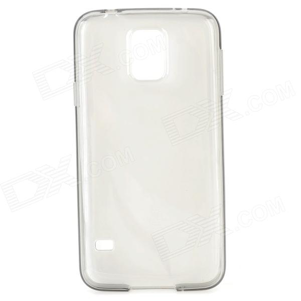 Protective TPU Case for Samsung Galaxy S5 - Translucent Black promate akton s5 чехол накладка для samsung galaxy s5 black