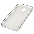 Protective TPU Case for Samsung Galaxy S5 - Translucent Black